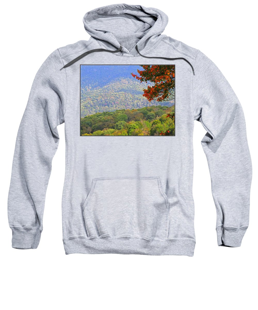 Fall Sweatshirt featuring the photograph Seasonal Color by Gary Adkins