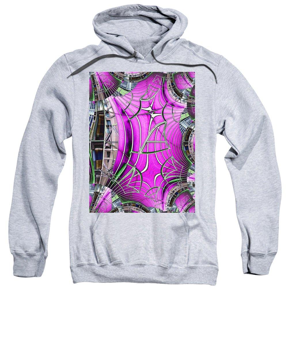 Seattle Sweatshirt featuring the digital art Seattle Art Museum by Tim Allen