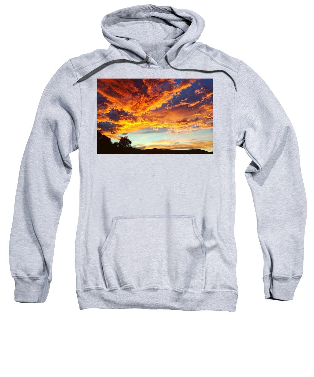 Life Sweatshirt featuring the digital art Sedona by Kristina Gerth