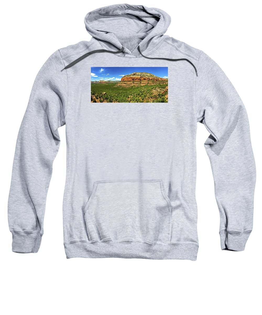 Landscape Sweatshirt featuring the photograph Sedona Landscape by Michael Cappelli