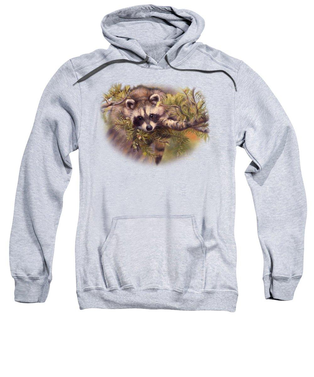 Raccoon Hooded Sweatshirts T-Shirts