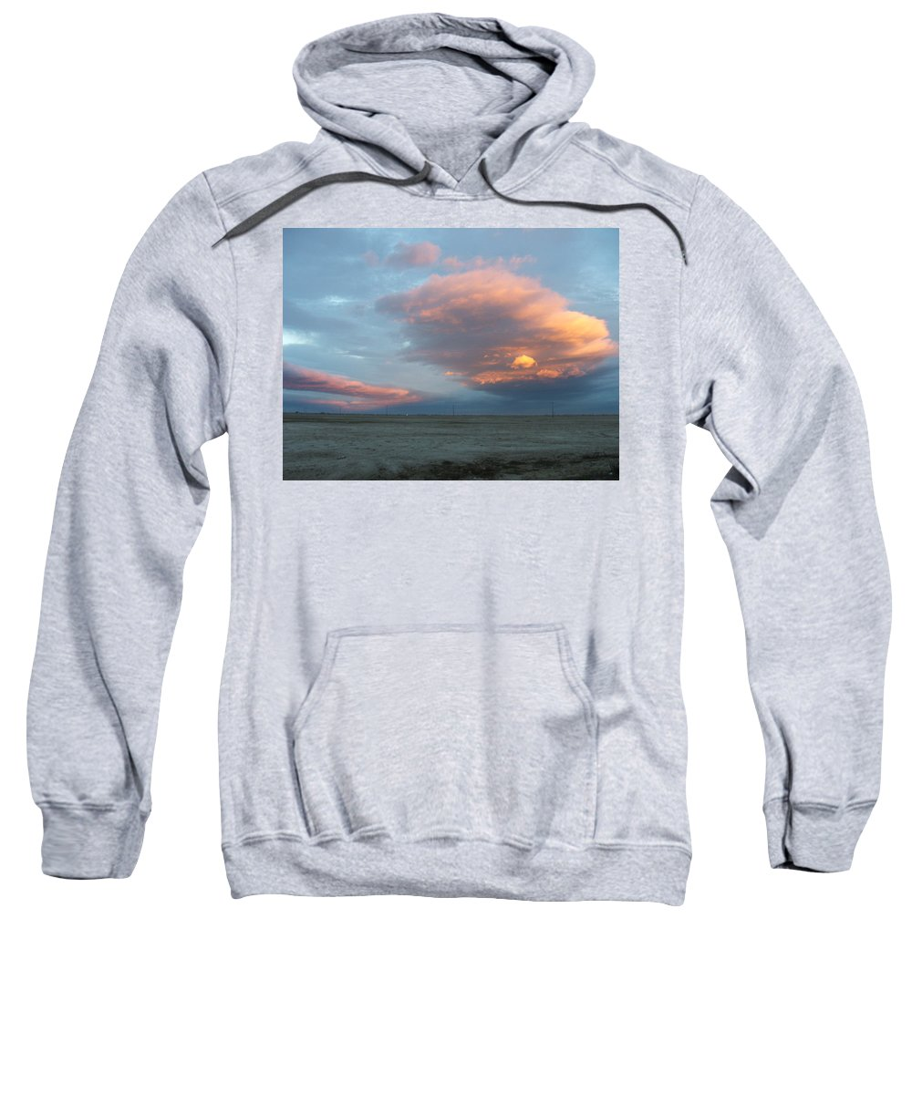 Desert Sweatshirt featuring the photograph Self-abandoned by Shari Chavira