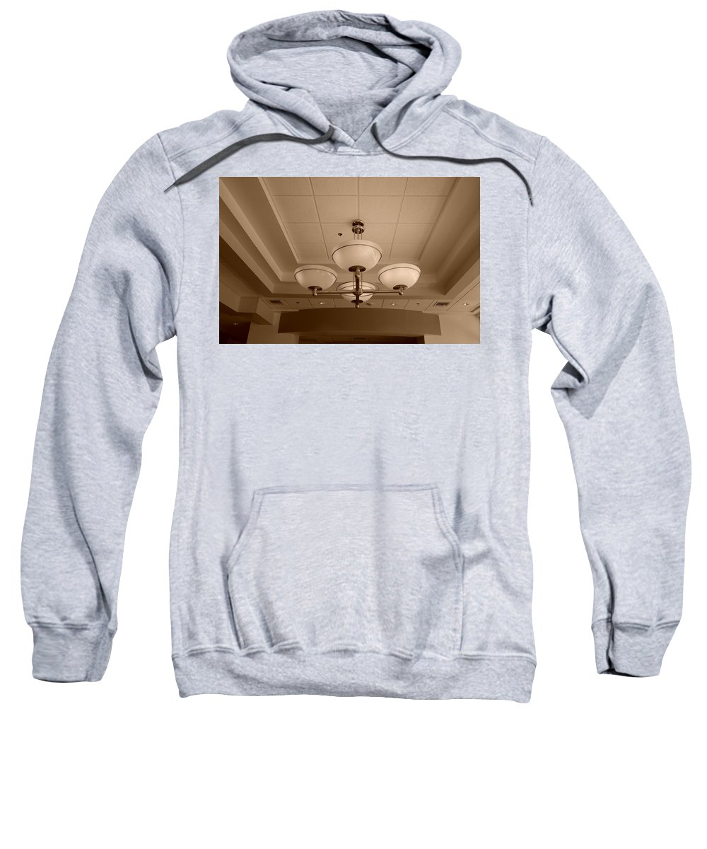 Sepia Sweatshirt featuring the photograph Sepia Lights by Rob Hans