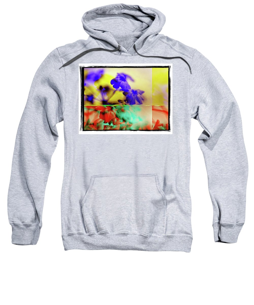 Flowers Sweatshirt featuring the photograph Serendipity by Michael Ziegler