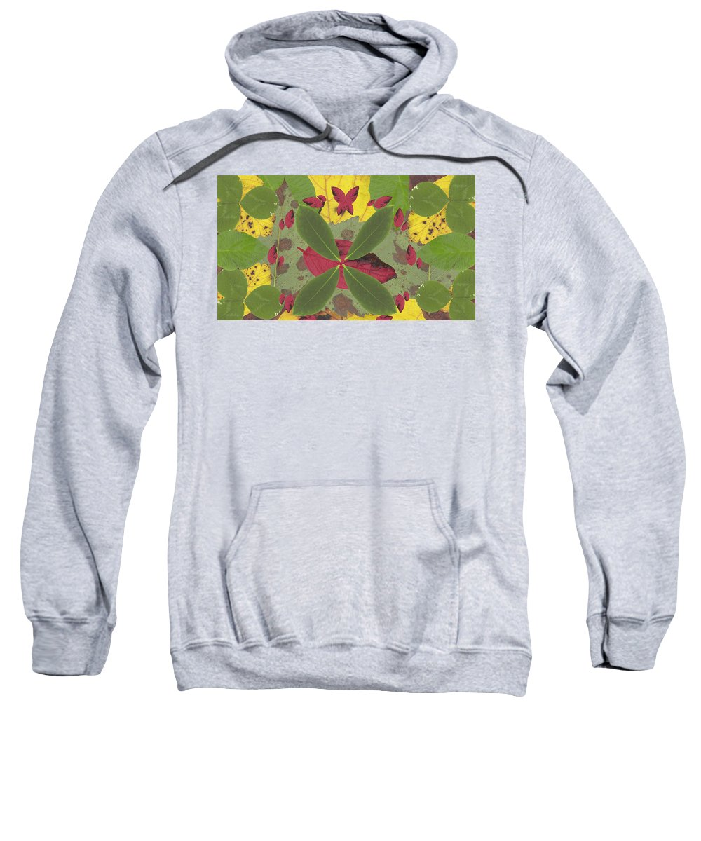 Landscape Sweatshirt featuring the photograph Serenity The Transcendence Into Autumn by Adam Norman