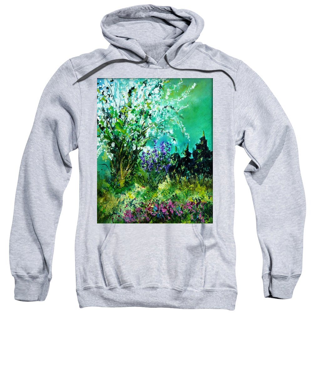 Tree Sweatshirt featuring the painting Seringa by Pol Ledent