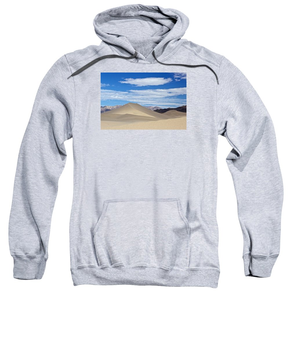 Sweatshirt featuring the photograph Shady Ibex Dunes by Eric Rosenwald