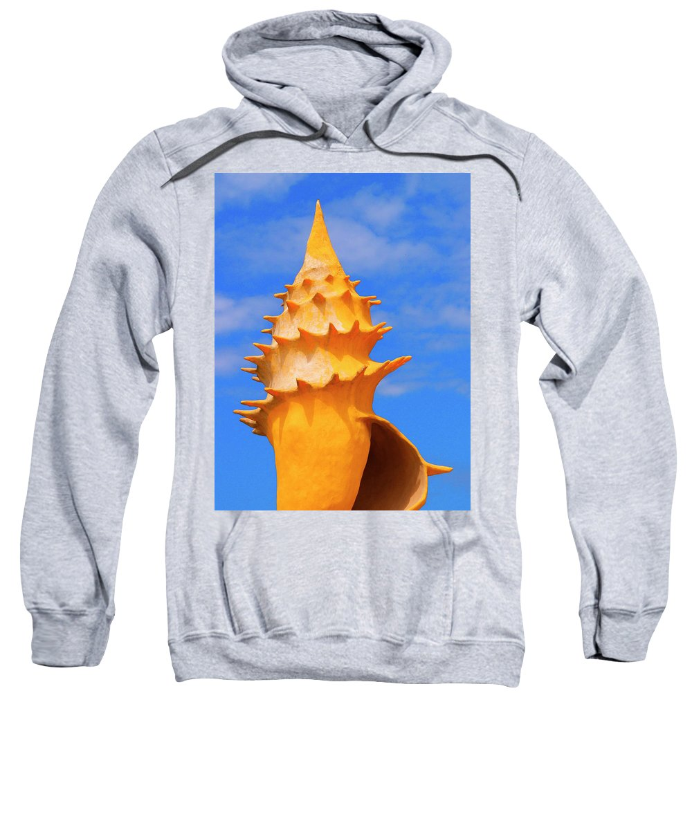 Sheldon Sweatshirt featuring the photograph Sheldon 1 by Skip Hunt