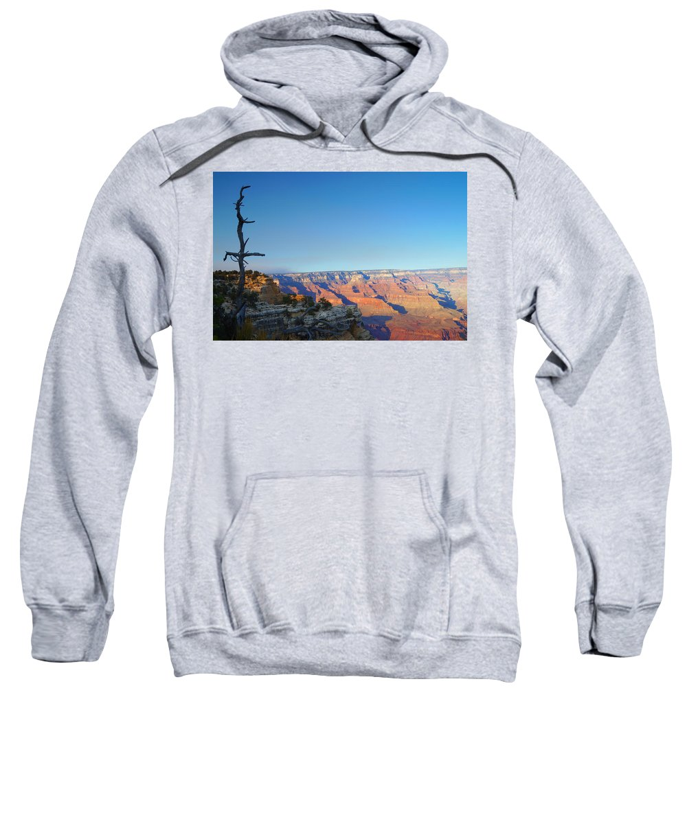 Autumn Sweatshirt featuring the photograph Shifting Perspectives by Beth Collins