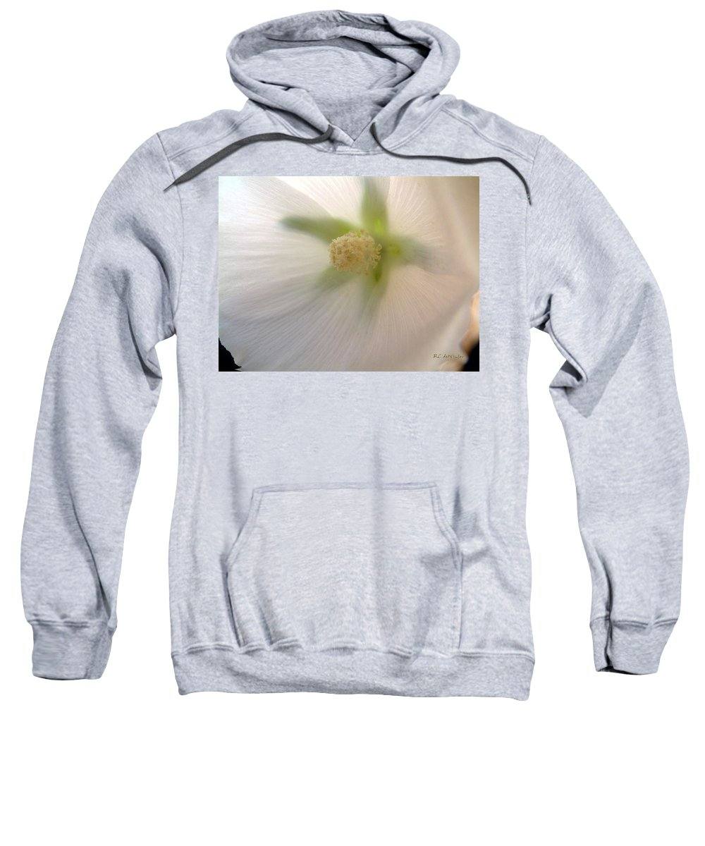Blossom Sweatshirt featuring the photograph Shimmer by RC DeWinter