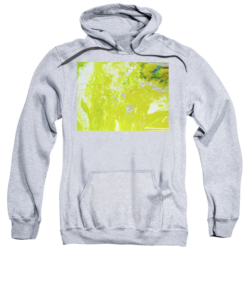Fusionart Sweatshirt featuring the painting Shine by Ralph White