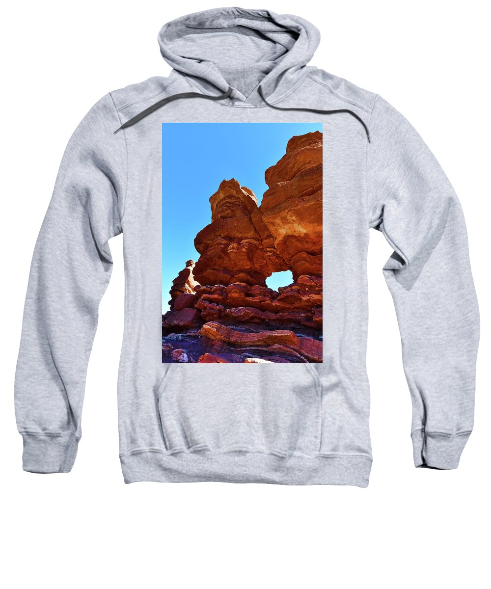 Natural Window Sweatshirt featuring the photograph Siamese Twins Natural Window by Surjanto Suradji