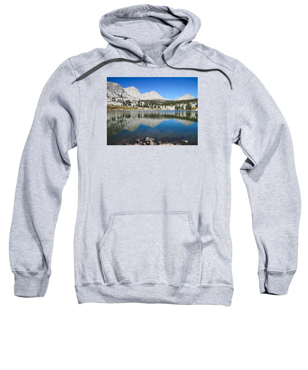Kern Loop Trail Sweatshirt featuring the photograph Sierra Reflection by Brenda Smith