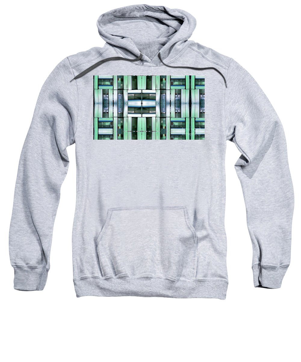 Hvac Sweatshirt featuring the digital art Silencer by Ron Bissett