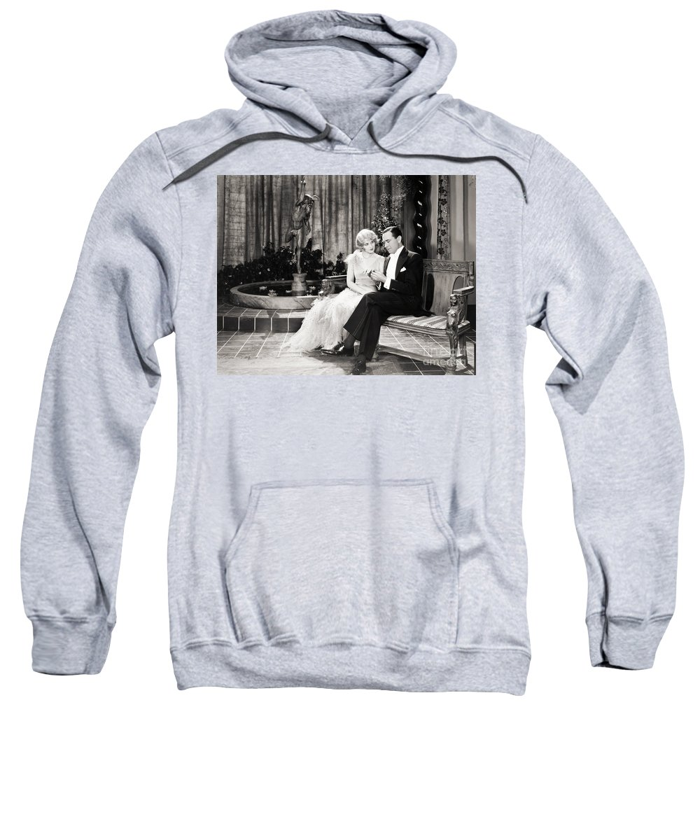-couples- Sweatshirt featuring the photograph Silent Still: Couples by Granger