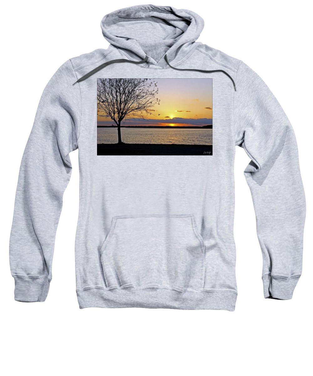 Sunset Sweatshirt featuring the photograph Sinking Sun by Phill Doherty