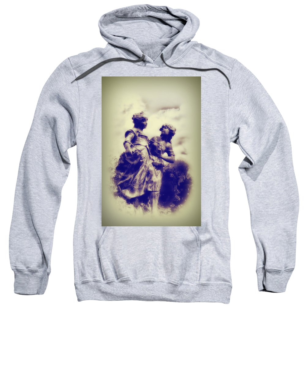 Highlands Sweatshirt featuring the photograph Sisters - Ink by Bill Cannon
