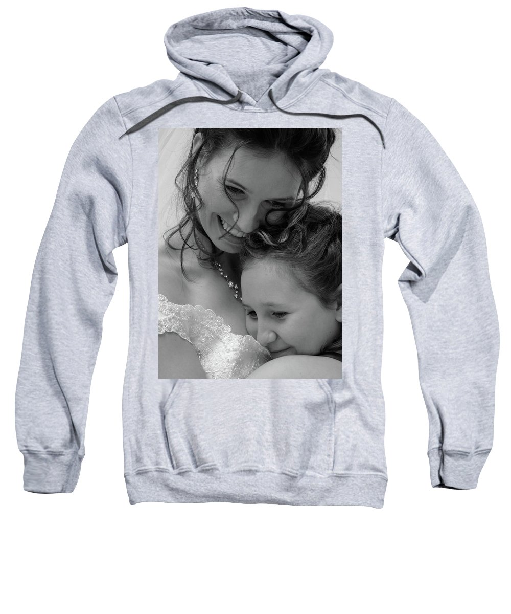 Sister Sweatshirt featuring the photograph Sisters by Monte Arnold
