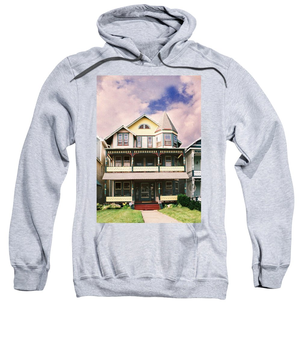 Landscape Sweatshirt featuring the photograph Sisters Panel Three Of Triptych by Steve Karol