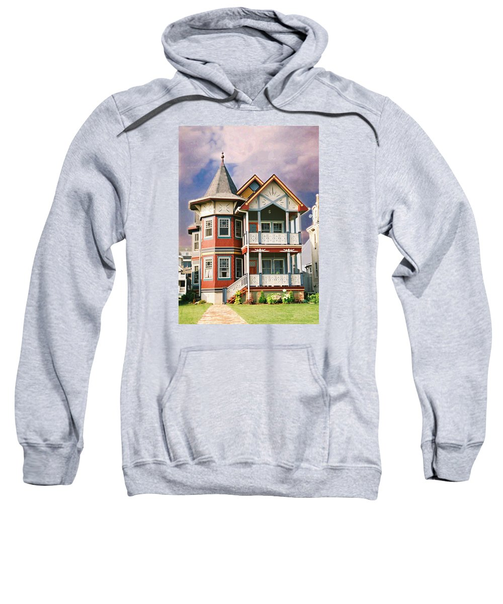Landscape Sweatshirt featuring the photograph Sisters Panel Two Of Triptych by Steve Karol