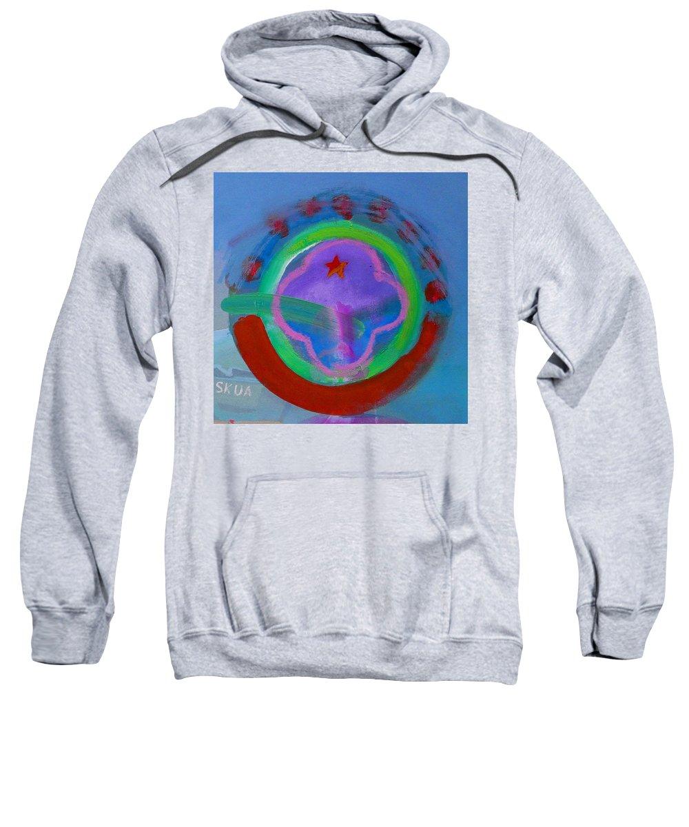 Love Sweatshirt featuring the painting Skua by Charles Stuart