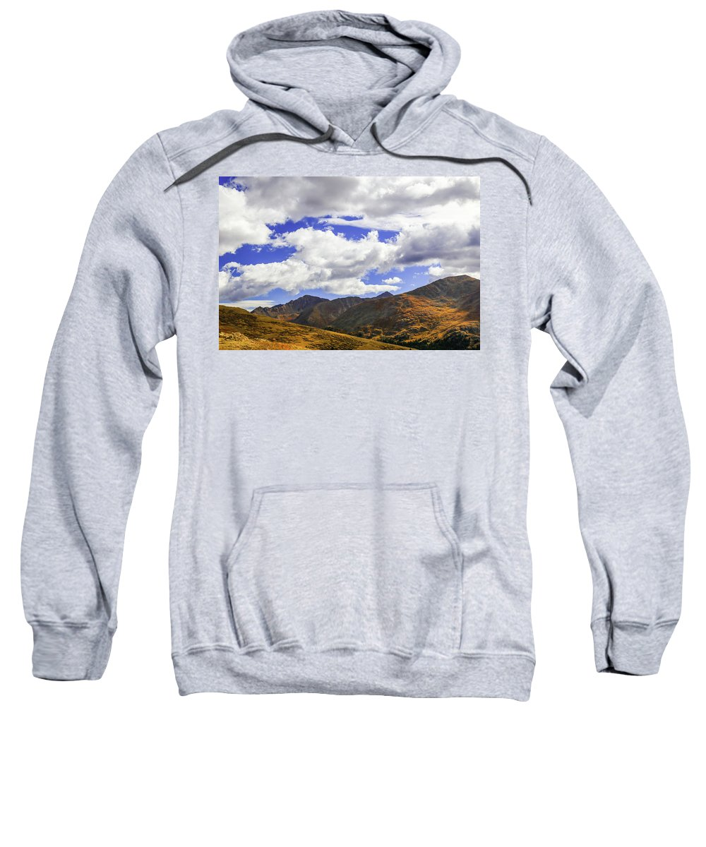 Colorado Sweatshirt featuring the photograph Sky On The Divide by Lisa Scammell