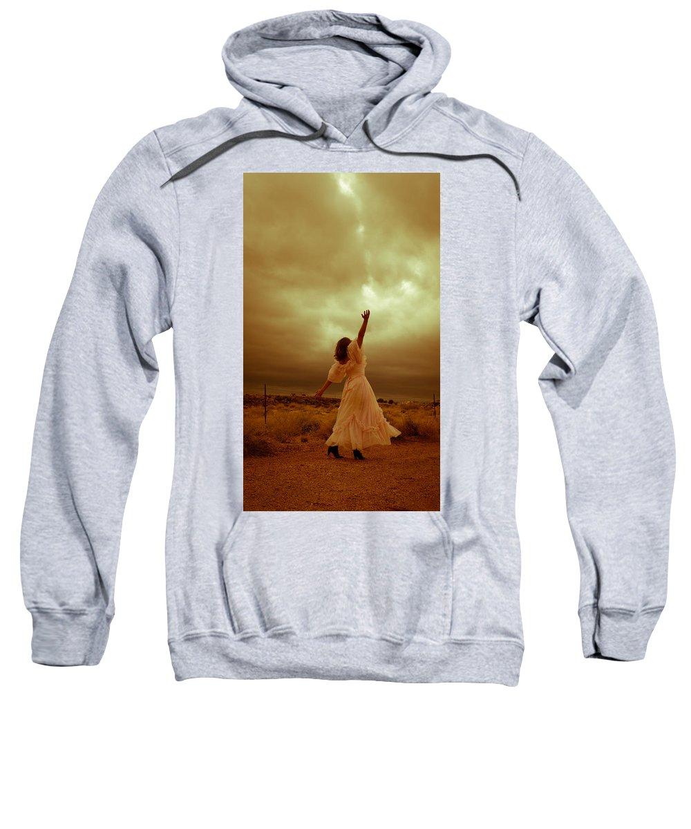 Storm Sweatshirt featuring the photograph Sky Splitter by Scott Sawyer