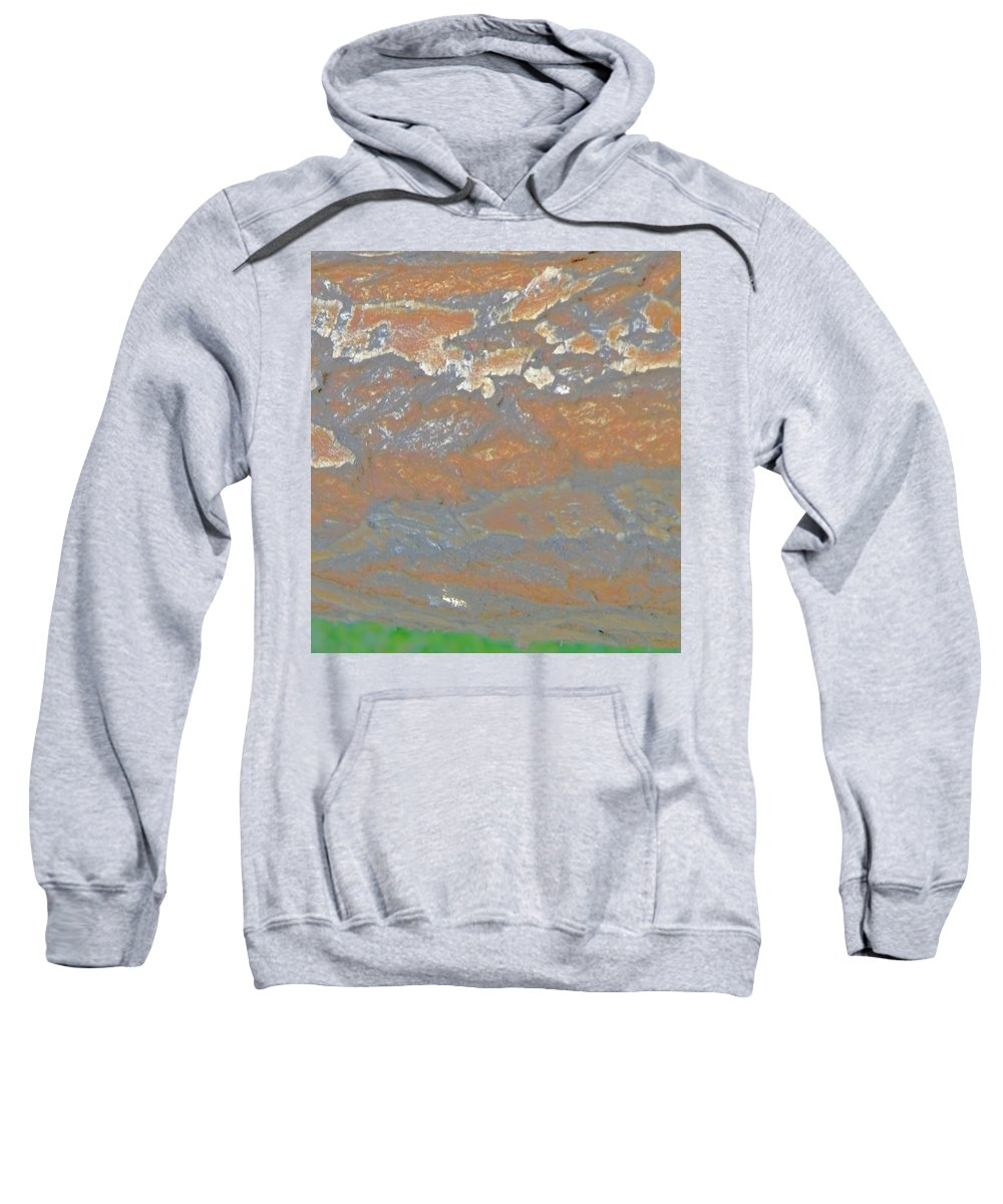 Abstract Sweatshirt featuring the photograph Sky The Color Of Trees by Lenore Senior