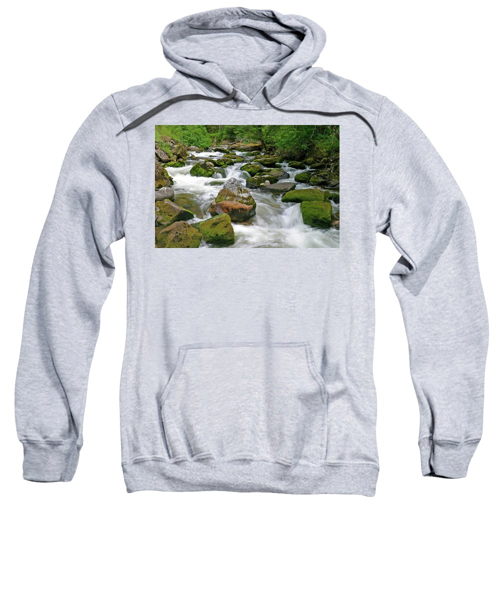 Canyons And Dissected Uplands Sweatshirt featuring the photograph Slate Creek, Nez Perce National Forest, Idaho by Robert Mutch