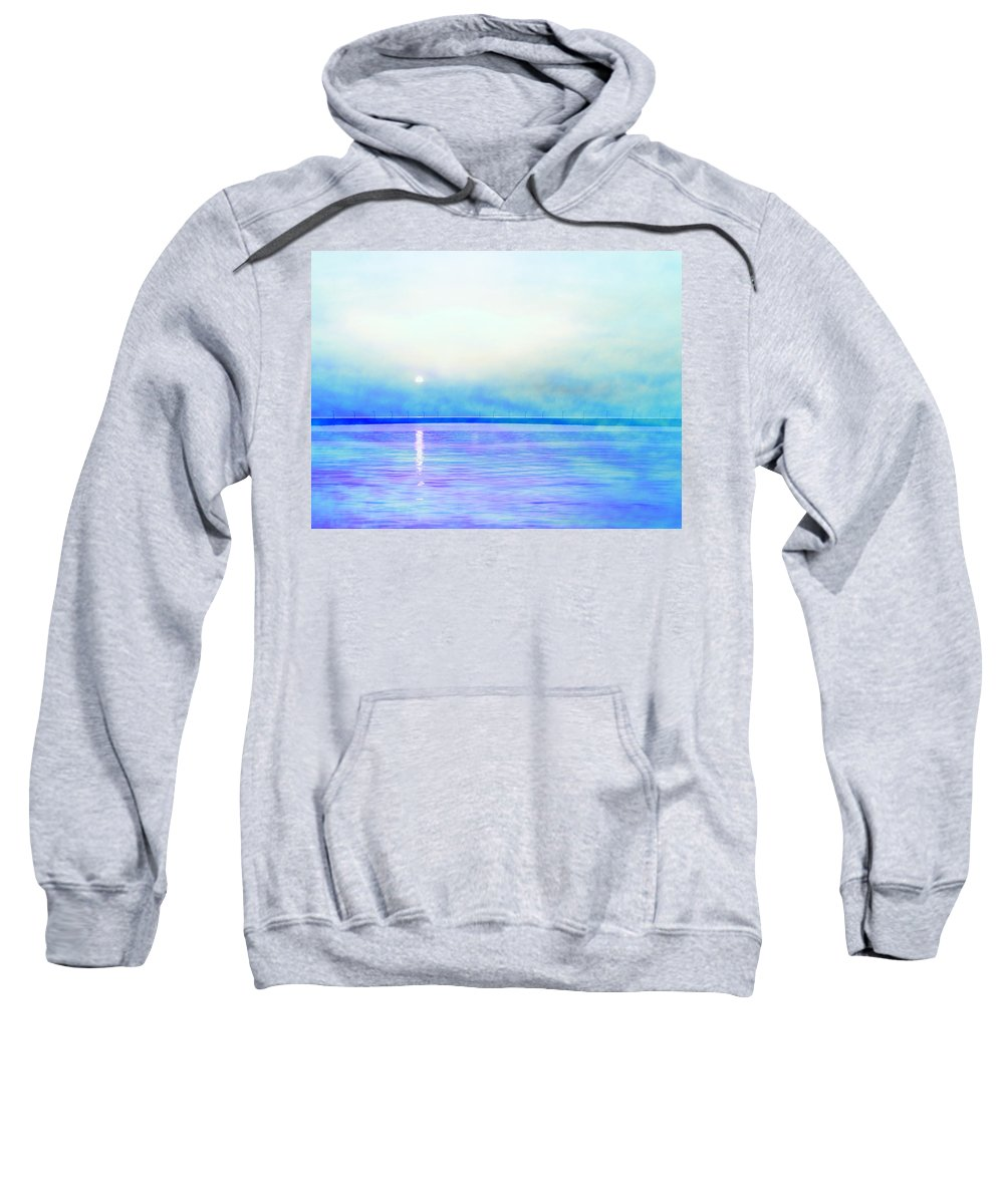 Photo Sweatshirt featuring the photograph Sleeping Child by Munir Alawi