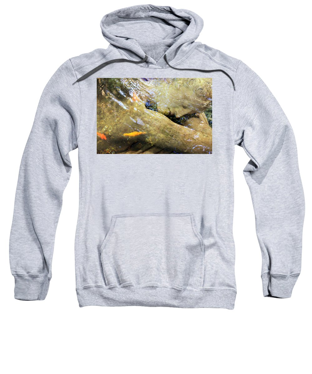 Digital Sweatshirt featuring the photograph Sleeping Under The Water by Munir Alawi