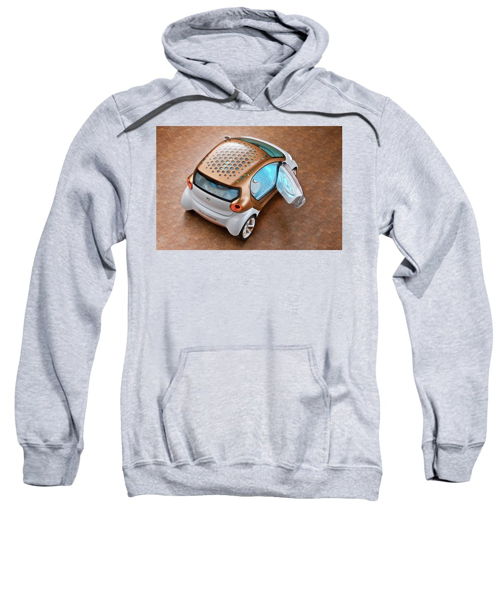 Smart Forvision Sweatshirt featuring the digital art Smart Forvision by Bert Mailer