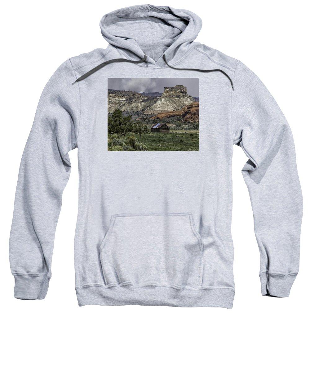 Bryce City Sweatshirt featuring the photograph Smoke In The Mountains by Elizabeth Eldridge