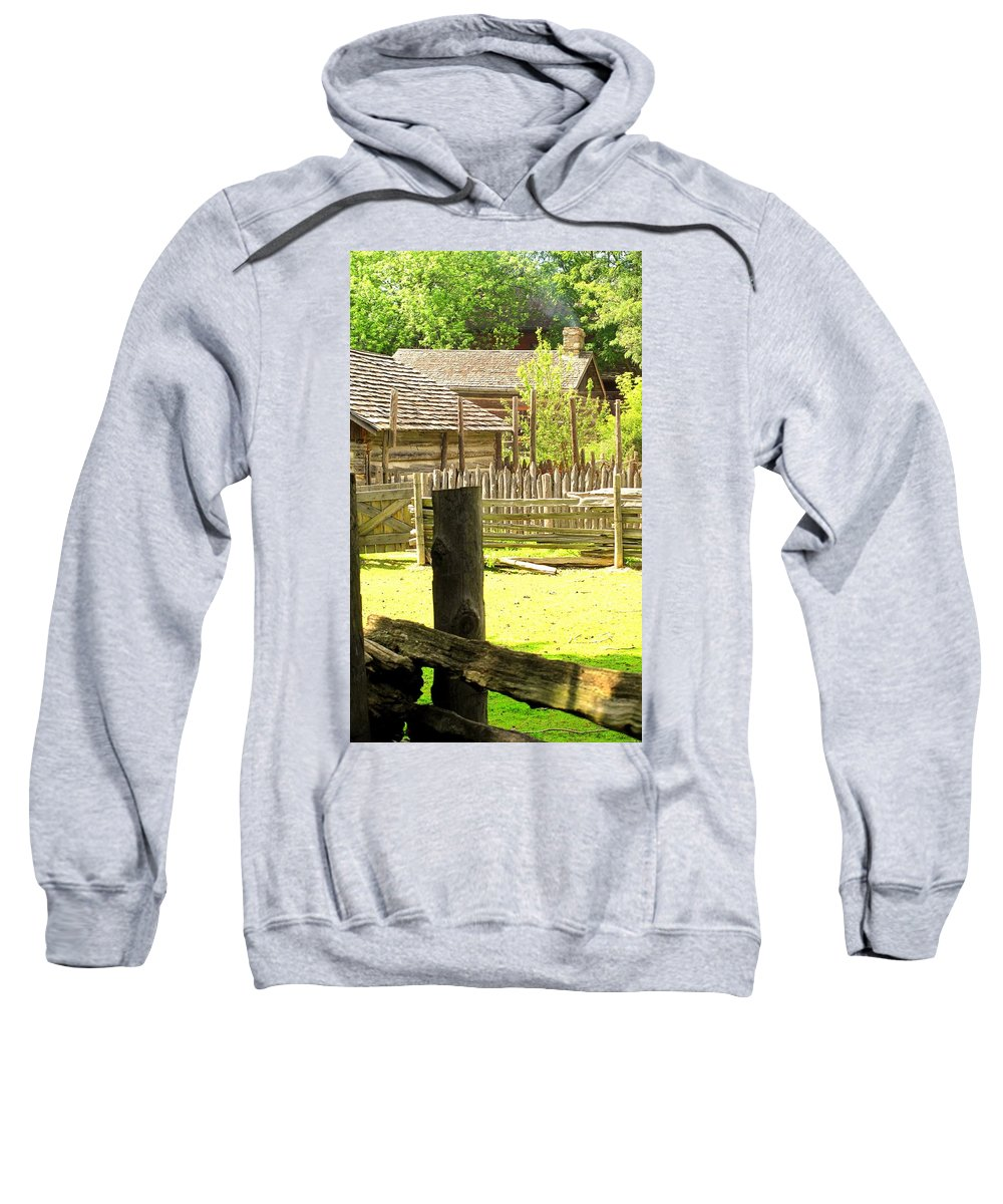 Smoke Sweatshirt featuring the photograph Smoke Rising by Ian MacDonald