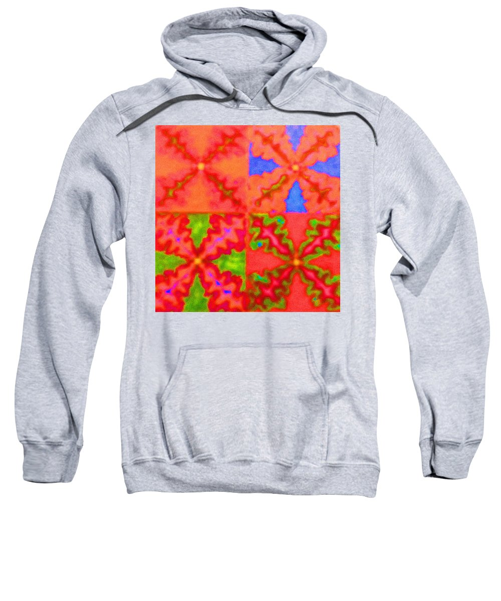 Snake Sweatshirt featuring the digital art Snakey by April Patterson