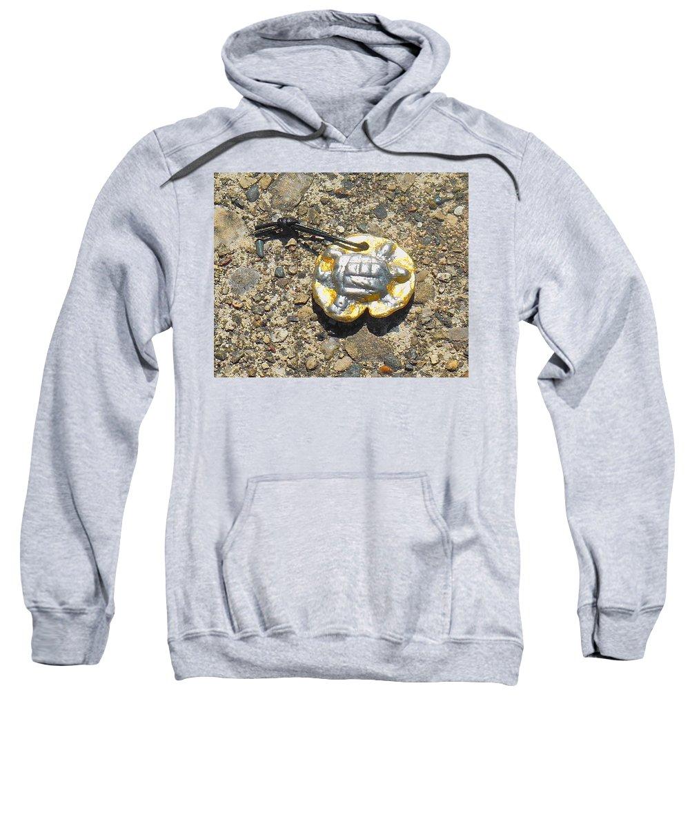 Silver Sweatshirt featuring the jewelry Snapper by Samuel Zylstra