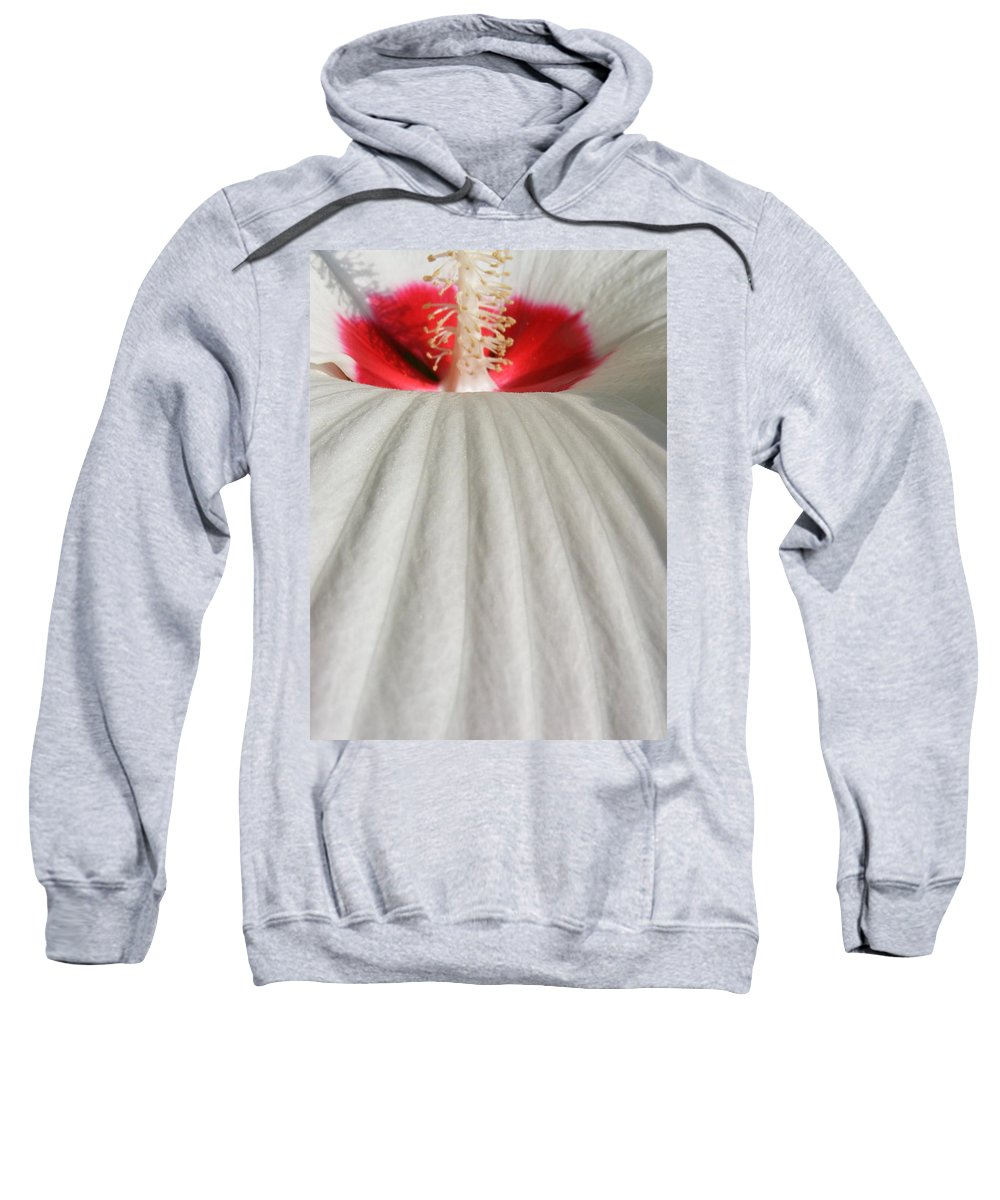 Still Life Sweatshirt featuring the photograph Snow Covered Hill by Ed Smith