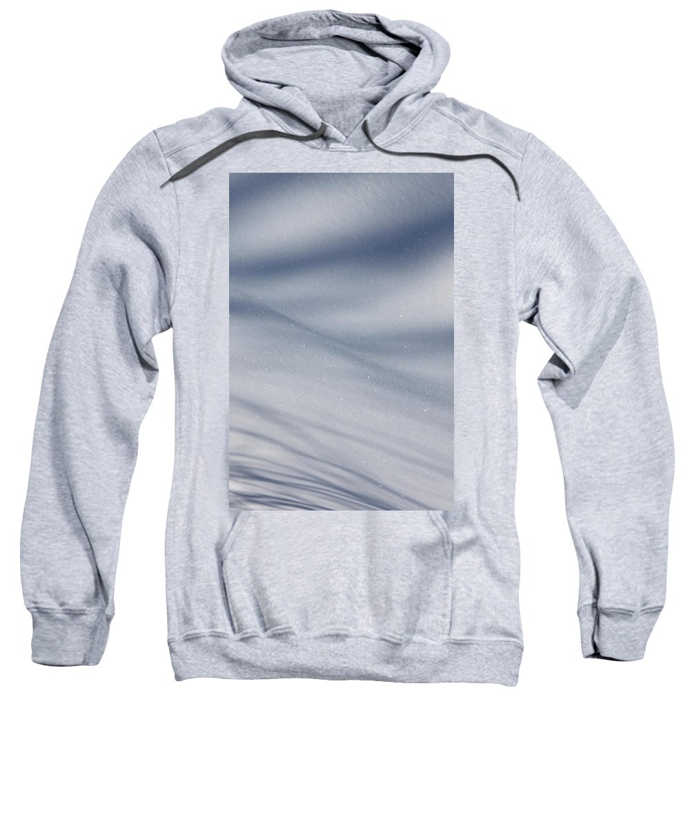 Snow Sweatshirt featuring the photograph Snowy Shadows 2 by Lauri Novak