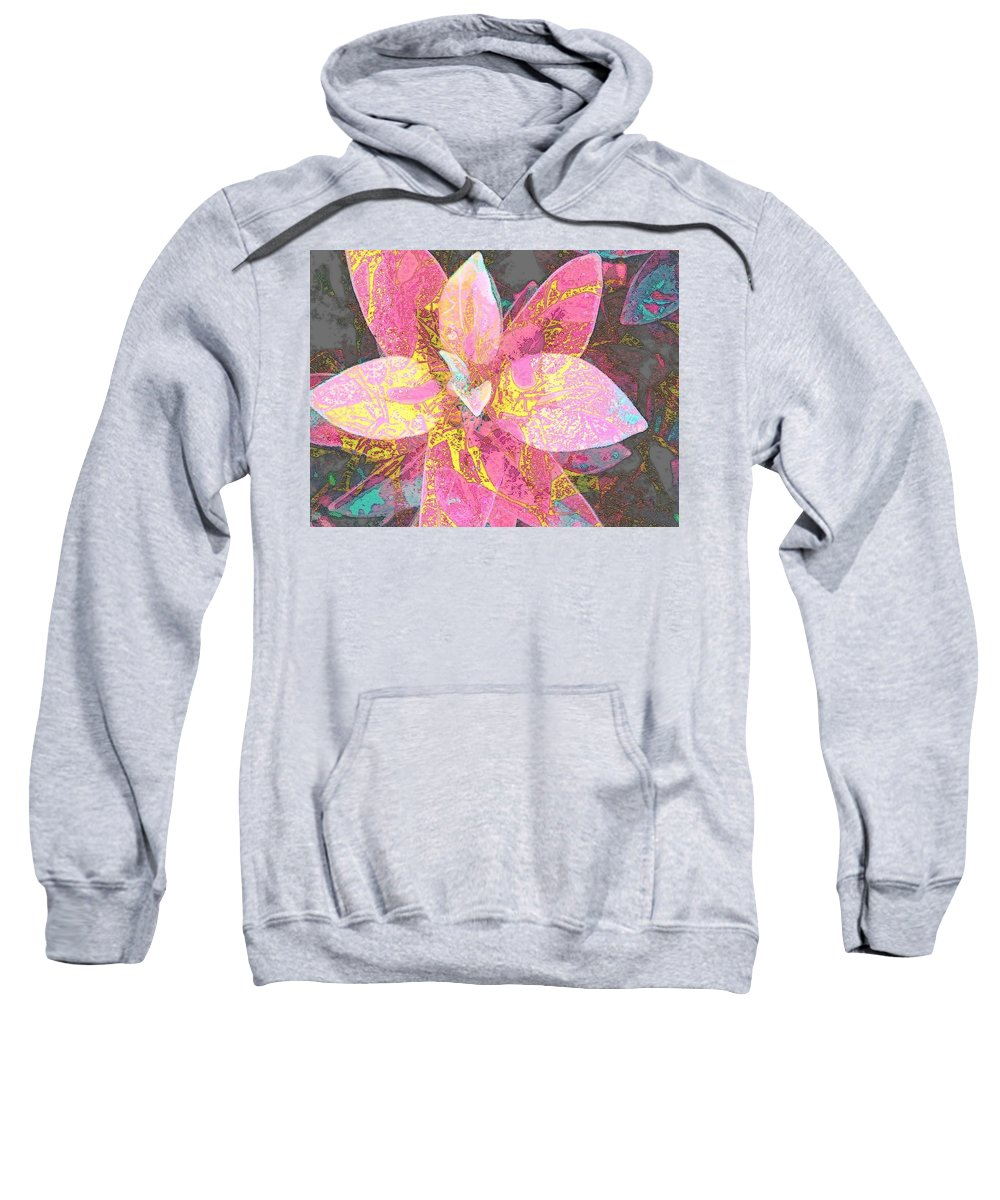 Flower Sweatshirt featuring the photograph So Alluring by Andy Rhodes