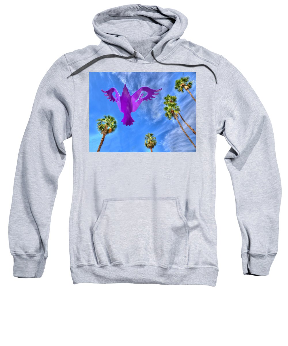 Photography Sweatshirt featuring the photograph Soaring by Paul Wear