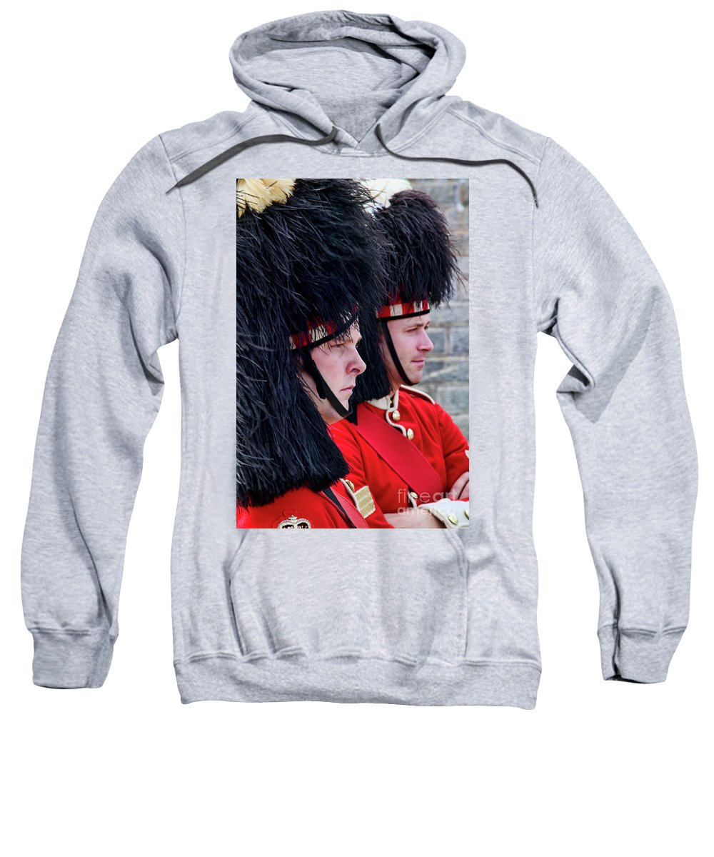 Nova Scotia Sweatshirt featuring the photograph Soldiers by Scott Kemper
