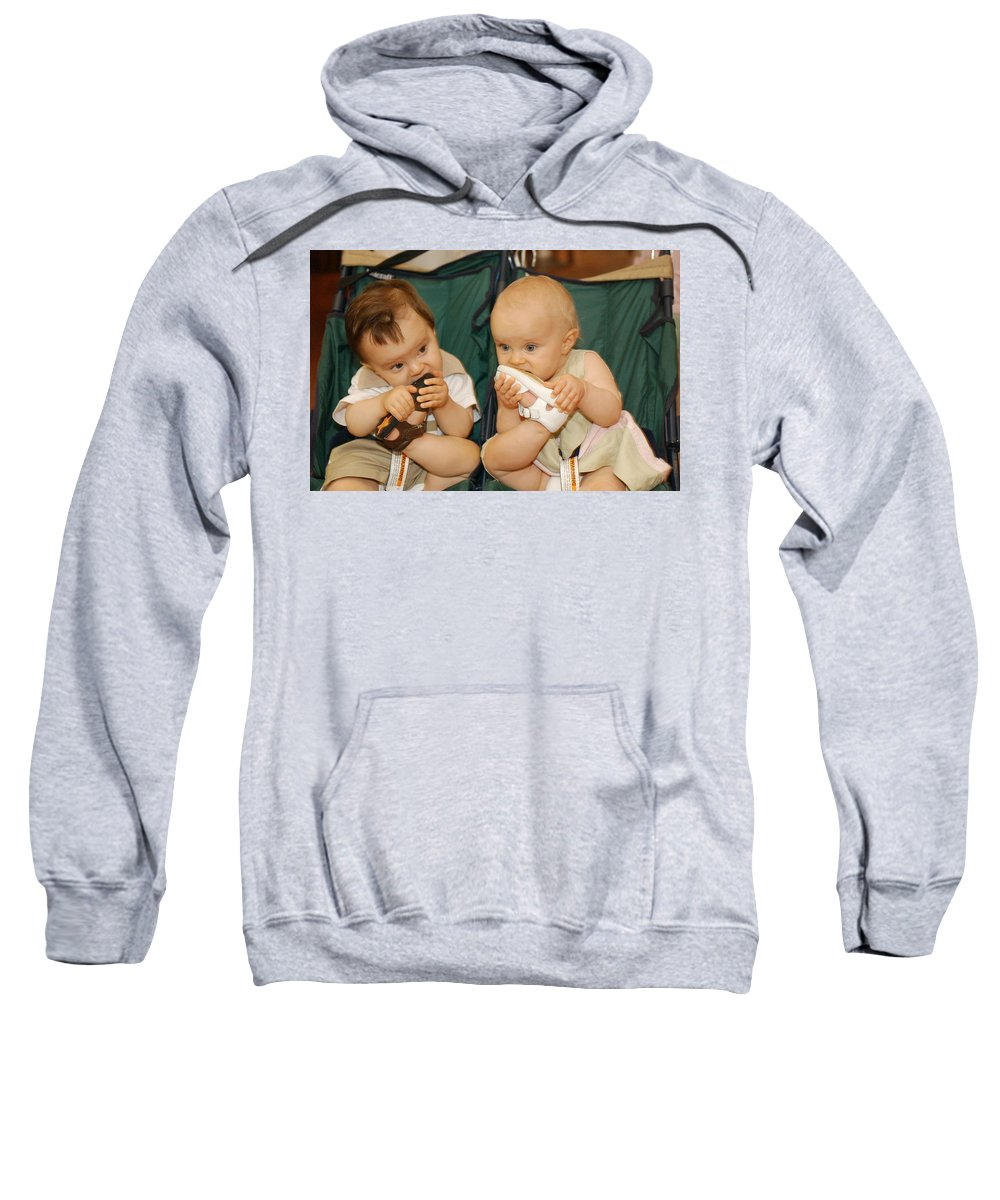 Feet Sweatshirt featuring the photograph Sole Food by Jill Reger