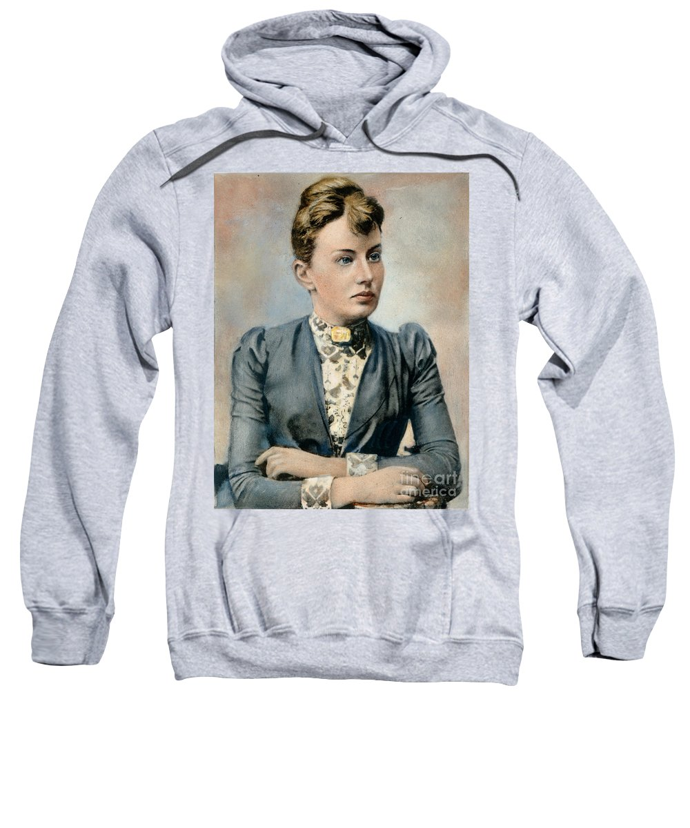 19th Century Sweatshirt featuring the photograph Sonya Kovalevsky (1850-1891) by Granger