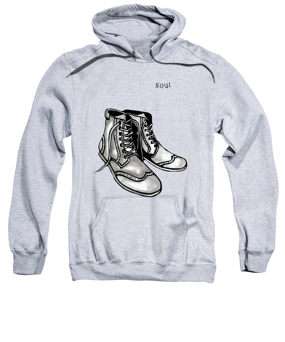 Fidostudio Sweatshirt featuring the painting Soul 2 by Tom Fedro - Fidostudio