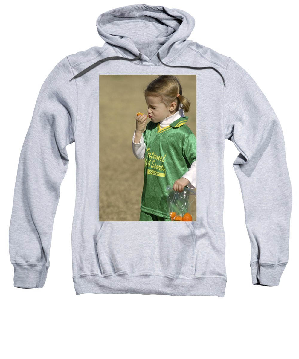 Food Sweatshirt featuring the photograph Sour by Jill Reger