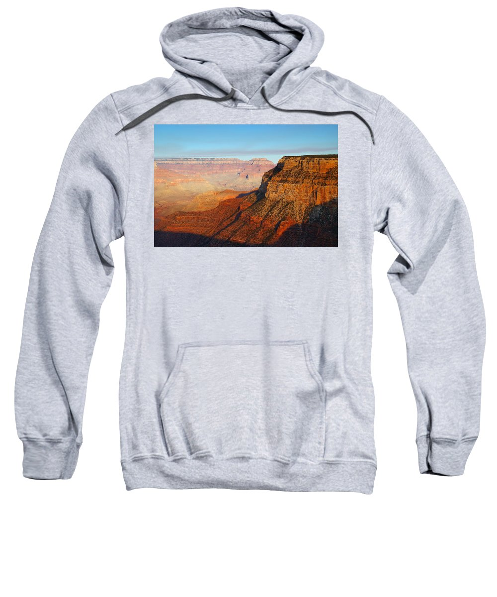 Autumn Sweatshirt featuring the photograph South Rim by Beth Collins