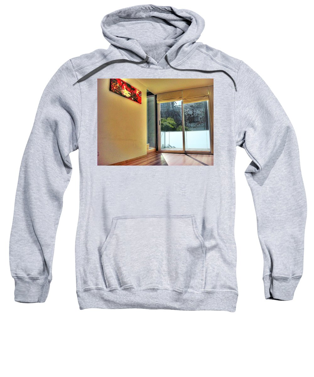 Wall Sweatshirt featuring the photograph Spaces by Francisco Colon