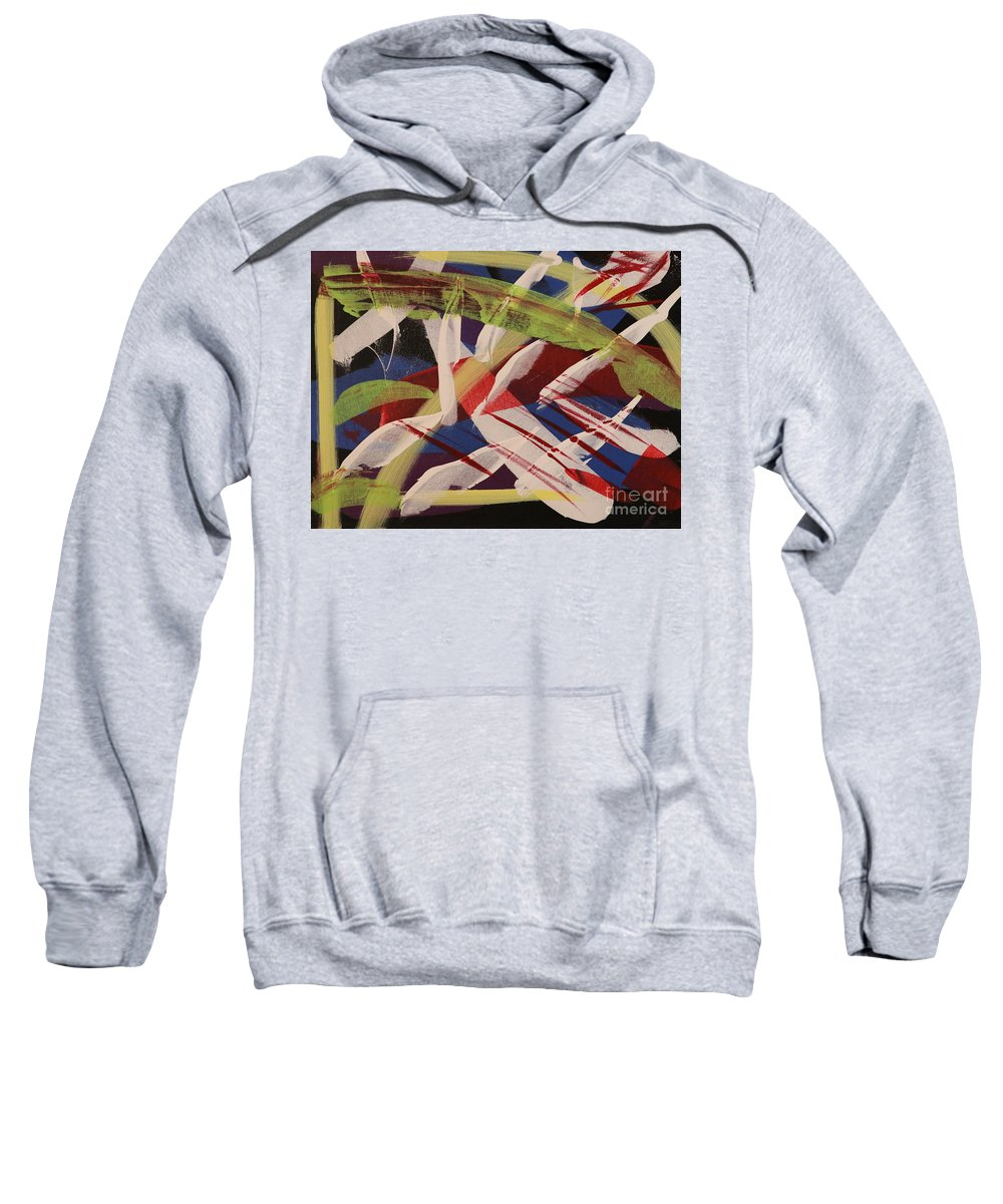 Acrylic Sweatshirt featuring the painting Sparks - 280 by Robert Dixon