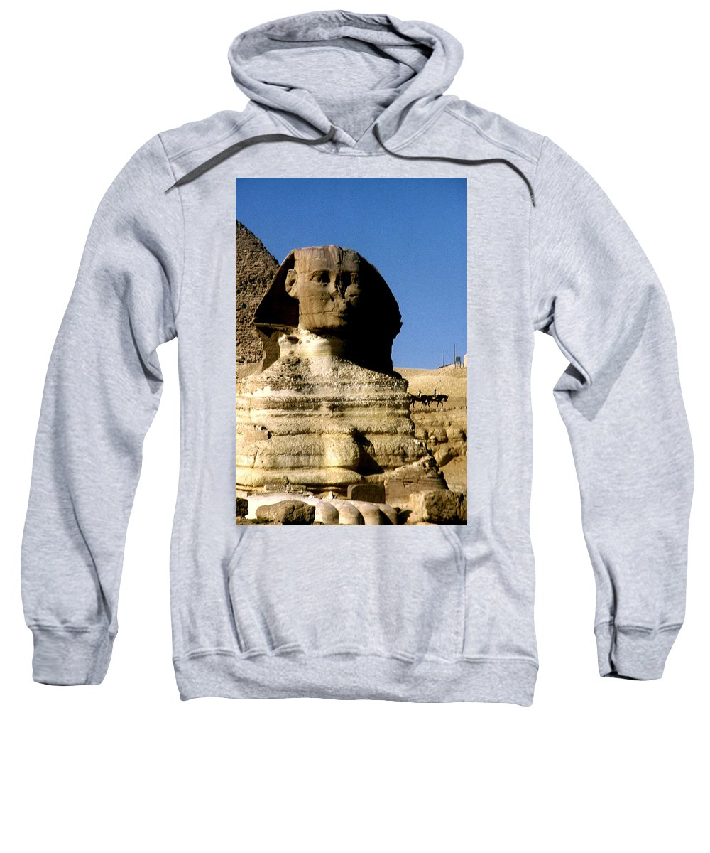 Sphinx Sweatshirt featuring the photograph Sphinx by Gary Wonning