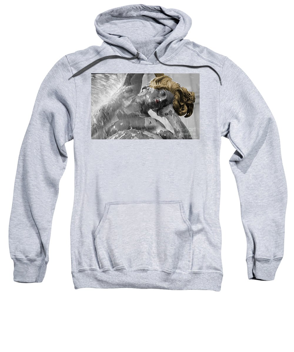 Portrait Sweatshirt featuring the photograph Spirit Of Water by Lyric Lucas